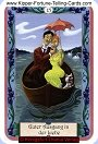 Mystical Kipper card meaning of success in Love