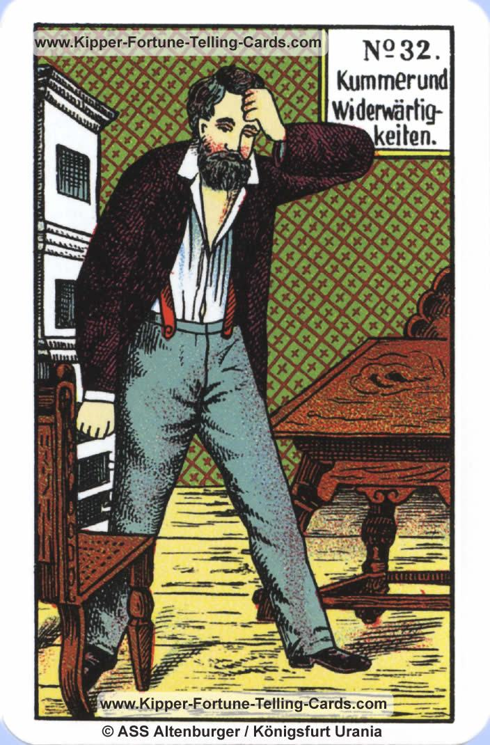 Sorrow and Tribulations Original Kipper Cards card reading