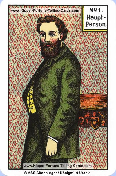 Original Kipper Cards Meaningsthe main Person male