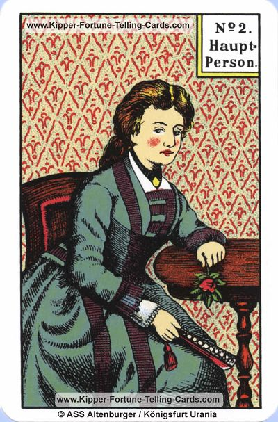 Original Kipper Cards Meaningsthe main Person female