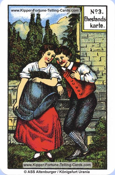 Original Kipper Cards Meaningsthe Marriage