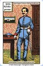 Original Kipper Cards Meanings of Military person