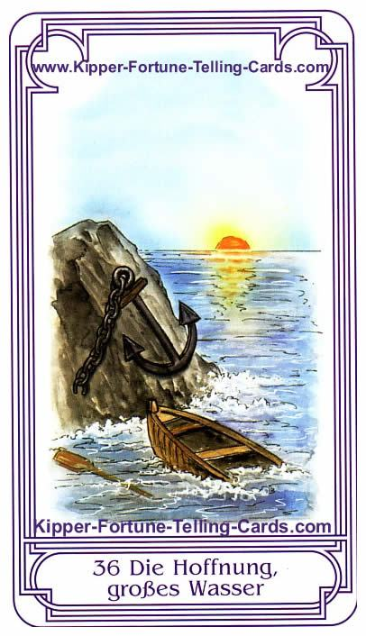 Hope, big Water Salish Kipper Cards Meanings | Explanation