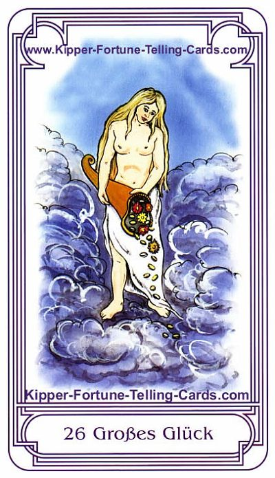 The Big luck, result Pisces horoscope for today, Salish Kipper Tarot