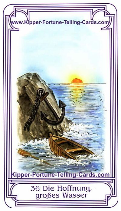 The Hope, big Water, result Taurus horoscope for today, Salish Kipper Tarot