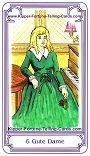 Salish Kipper Cards Meanings of Good Lady
