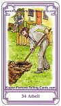 Salish Kipper Cards Meanings of Work occupation