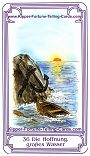 Salish Kipper Cards Meanings of The hope, big water