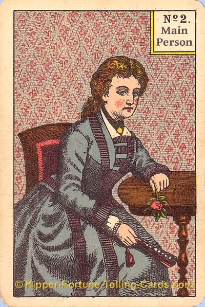 Main Person female Meaning Kipper Cards Tarot